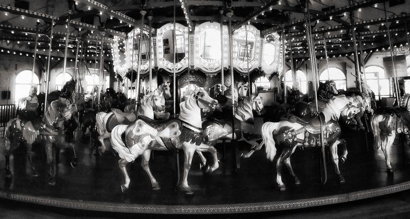 Mark Peacock Photography | Vintage Carousel Horses